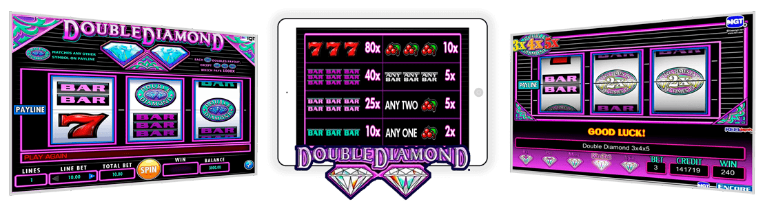machine a sous gratuit double diamond
