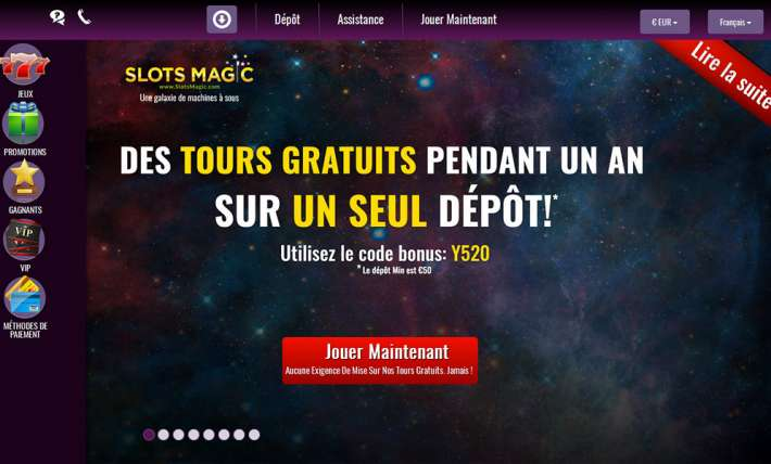 avis casino magic slot